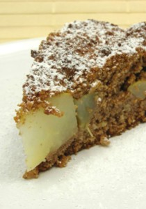 CQ-Pear gingerbreadcake