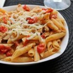 Easy Grilled Chicken Penne al Fresco