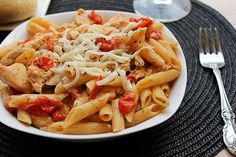 CQ- Chicken Penne Al-fresco