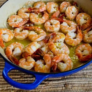 CQ- Garlic Lemon shrimp
