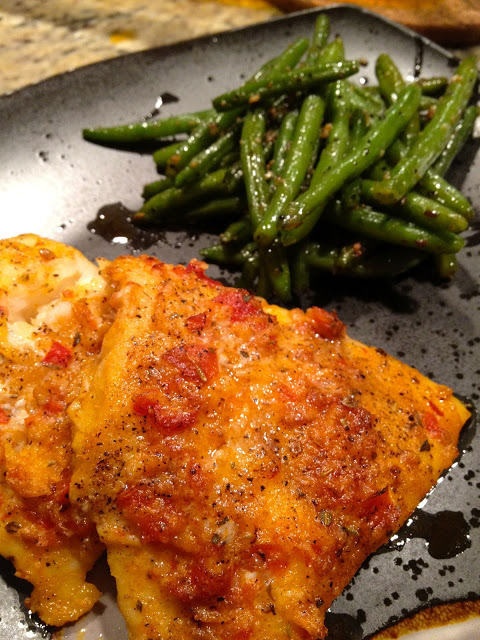 cq spicy baked cod
