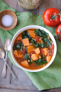 CQ- Sweet Potato and Lentil soup