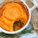 Sweet Potato Turkey Pie Casserole